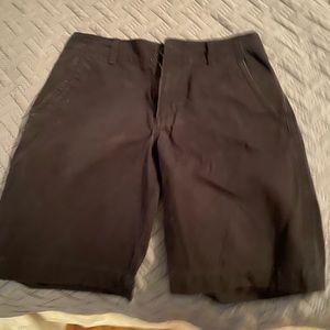 Black old navy shorts size 29.